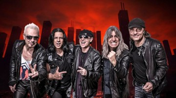 "SCORPIONS ""ONCE IN A LIFETIME"""