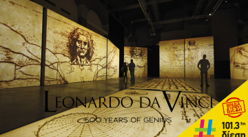 ΒΡΑΔΙΑ ΔΙΕΣΗ - «Leonardo Da Vinci- 500 Years of Genius»